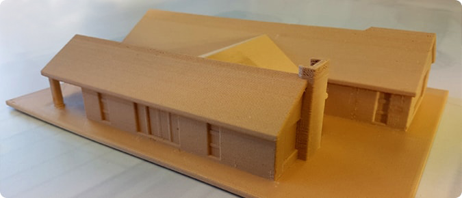 3D PRINTED HOUSE MODELS